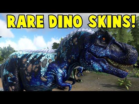Rare Dino Skins Ark Survival Evolved