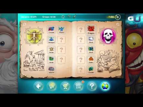 Doodle God - How to Create Hunter, Warrior, Hero, Blood & Vampire