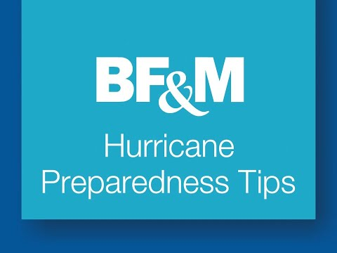 BF&M Hurricane Safety Tips