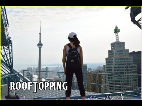 Follow me around Toronto~ Black market, rooftopping, photography (vlog)