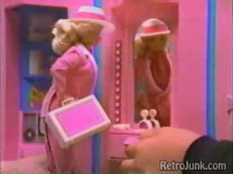 VINTAGE 80'S BARBIE HOME AND OFFICE COMMERCIAL