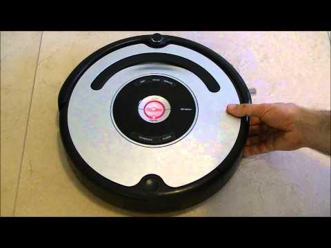 Roomba IRobot  cliff Sensor test 500 series Auto advance mode