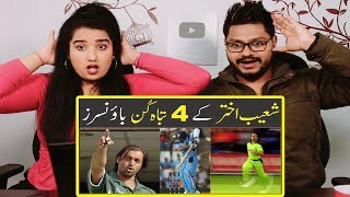 Indian Reaction On Top 4 Deliveries of Sohaib Akhtar by Asif Ali TV