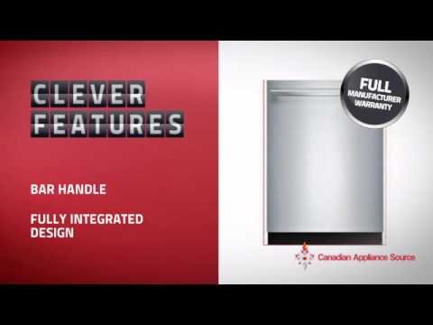 Bosch SHX68TL5UC  Built-In Undercounter Dishwasher