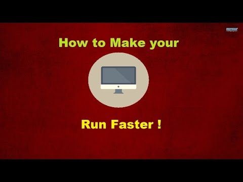 ★How To Make Your PC/COMPUTER Run faster !★ (17 ways) updated 2017