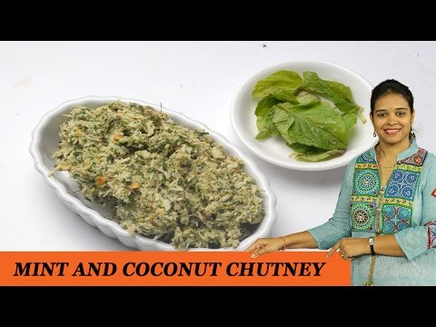 MINT AND COCONUT CHUTNEY