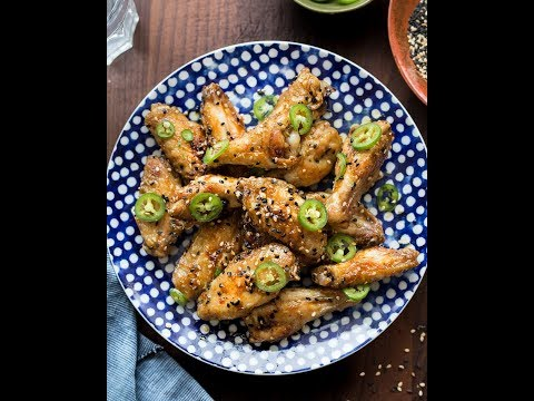 Whole30 Baked Sticky Asian Wings