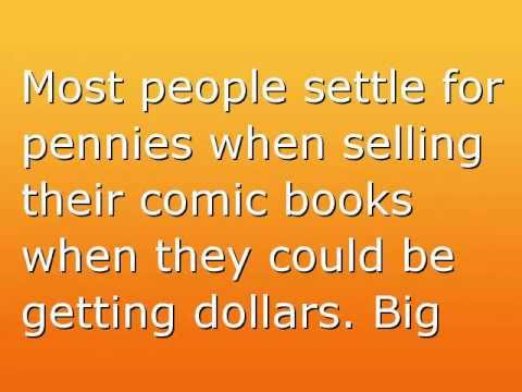 How To Easily Sell Your Comics For Big Money!
