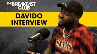 Davido Talks Nigerian Upbringing, Afrobeat Success + More