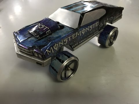 Can car aluminum cars soda & beer inspired by sandy sanders monster energy craft hobby art