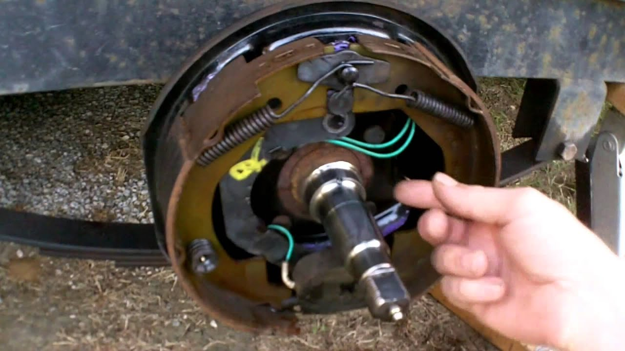 How Electric Trailer Brakes Work