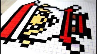 Tuto Minecraft Pixel Art Lemoji De Noël