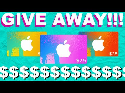 $25 ITUNES GIVE AWAY!!!