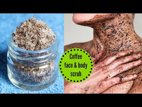 DIY Coffee Face & Body Scrub || Get Smooth, Bright & crystal clear skin