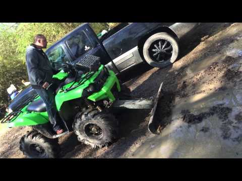 ATV Plow homemade!!