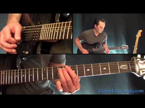 Orion Guitar Lesson Pt.2 - Metallica - Harmony Section w/Solo