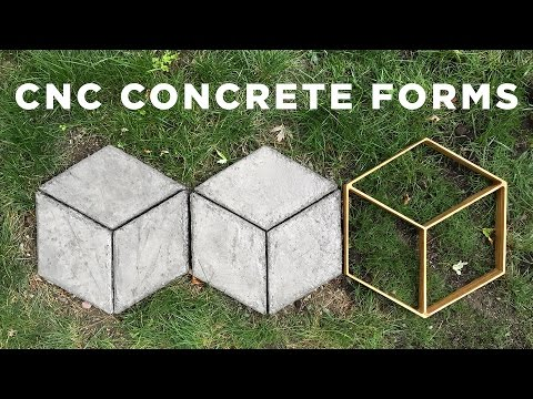 CNC Concrete Forms | How to make your own Walkmaker