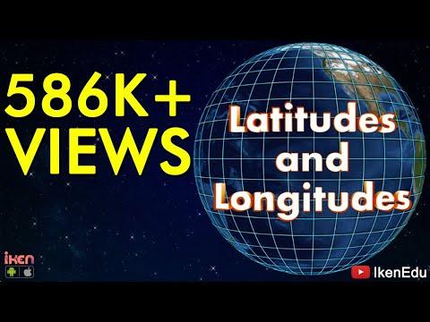 Latitudes and Longitudes