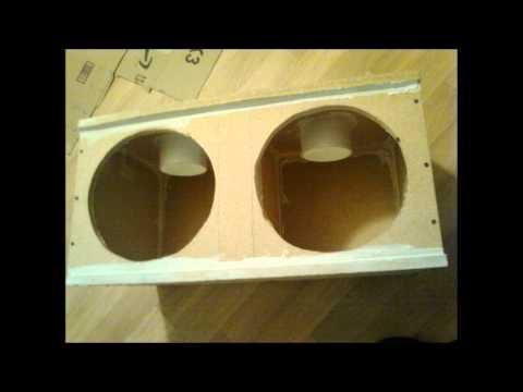 SUBWOOFER BOX 2 - 12 inch Ported ((( ArtMane 1st BUILD )))