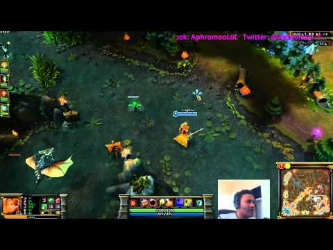 Aphromoo on How to Support for your AD Carry