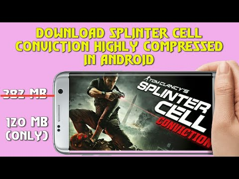 How to download Splinter Cell conviction | Highly Compressed | Gameplay | Rahul Creations | Android