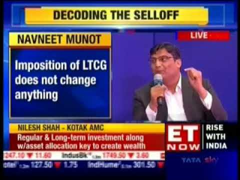 Navneet Munot, CIO, SBI Mutual Fund on ET Now Market Watch on 23rd March 2018