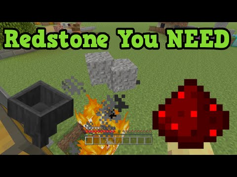 Minecraft 5 Simple Redstone Creations you NEED!