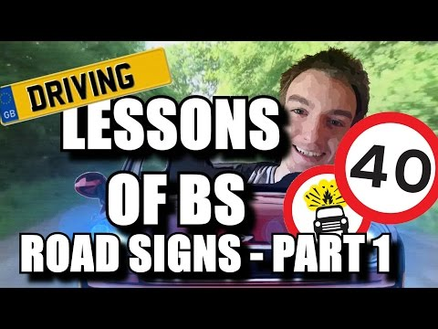 Driving Theory Test - Road Signs Giving Orders