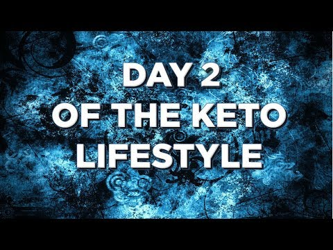 My Weight Loss Journey On Keto Day 2 *leg cramp*