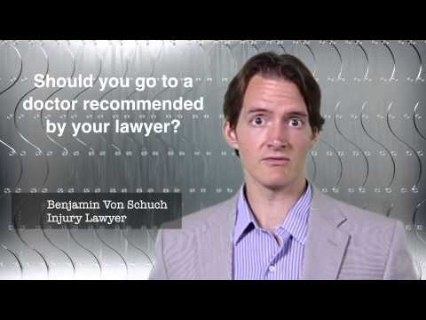 Should you go to a doctor that your lawyer recommended?   Atlanta Accident Lawyer