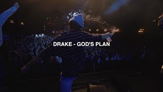 what happens when you play God's Plan at a concert