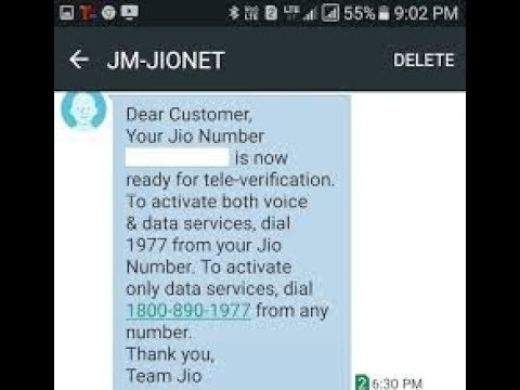 How to know your Jio sim number if you forget your number, in just few seconds.