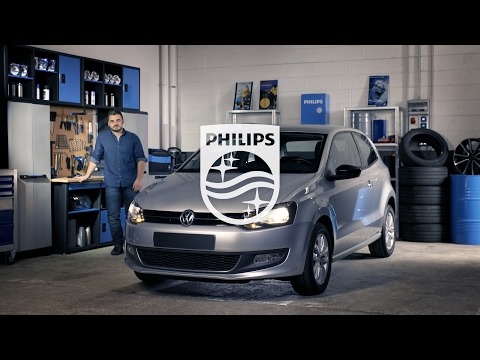 How to replace headlight bulbs on your Volkswagen Polo V - Philips automotive lighting