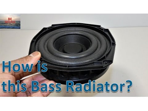 HOW IS THIS BASS RADIATOR OR PASSIVE SPEAKER