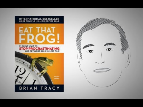 Stop Procrastinating: EAT THAT FROG! by Brian Tracy