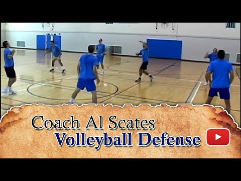 Mastering Men's Volleyball Skills and Drills - Defense featuring  Coach Al Scates