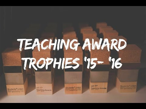 UAL Teaching Awards 2015 -2016 - The Making of Trophies