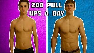 200 pull ups videos