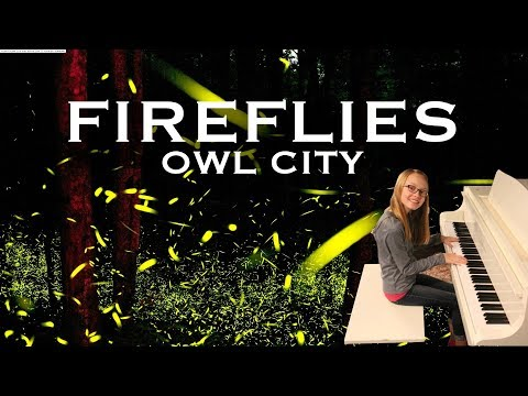 Fireflies - Owl City Piano Cover