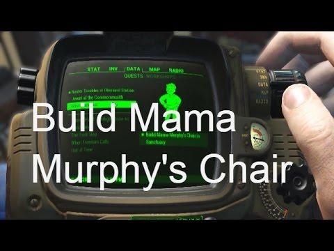 Fallout 4 - Build Mama Murphys Chair Guide