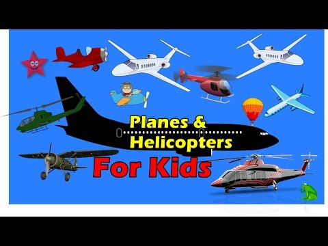 Planes & Helicopter Flying for Kids Cartoons with Action | Super Kids Series 1.2