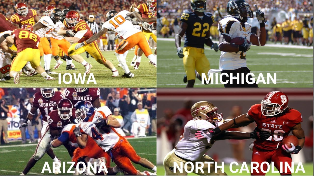 Biggest College Football Upset in Every State (2000-2018)