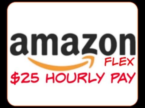 $25/hr Work@Home for Amazon Flex