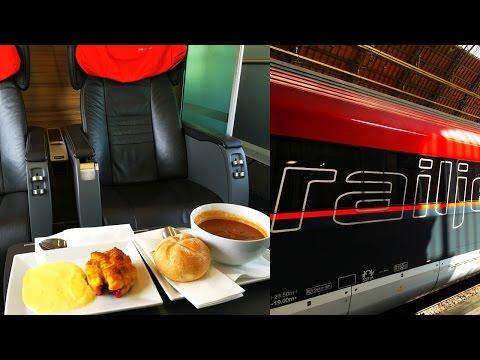 ÖBB Railjet Business Class Budapest - Vienna