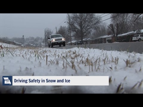 Driving Safety in Snow and Ice - Missouri State Highway Patrol