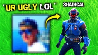 He Found My FACE REVEAL.. (Fortnite)