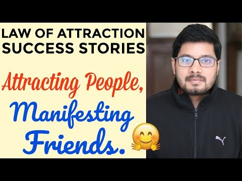 MANIFESTATION #83: Law of Attraction for Making Friends & Attracting People | How to Use The Secret