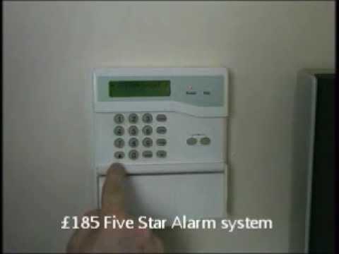 5staralarms.co.uk How to change burglar Alarm code