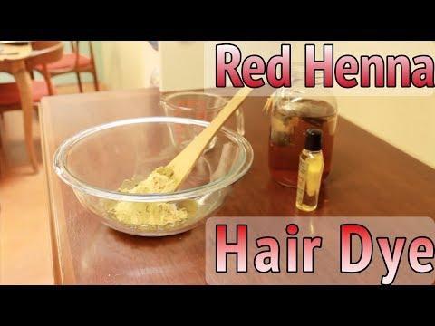 Red Henna Paste for Strong, Shiny Hair | Tutorial