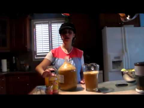 how to make homemade apple cider vinegar with organic apples